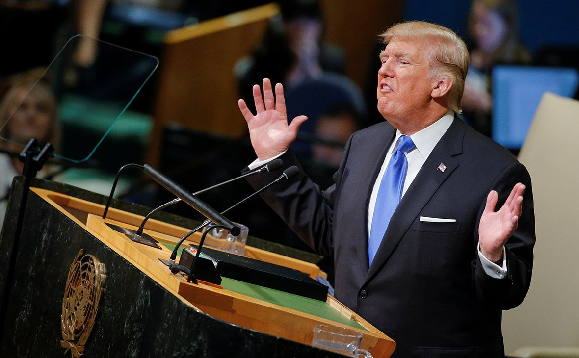 Trump's UNGA Speech & Blowbacks - Retrospect .