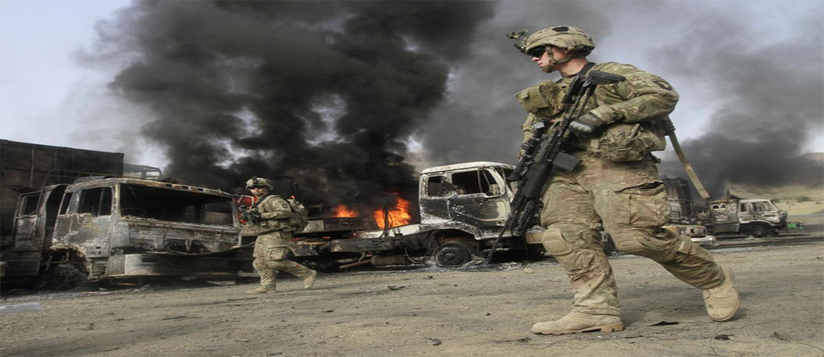 US not in mood of exiting Afghanistan - Retrospect ...