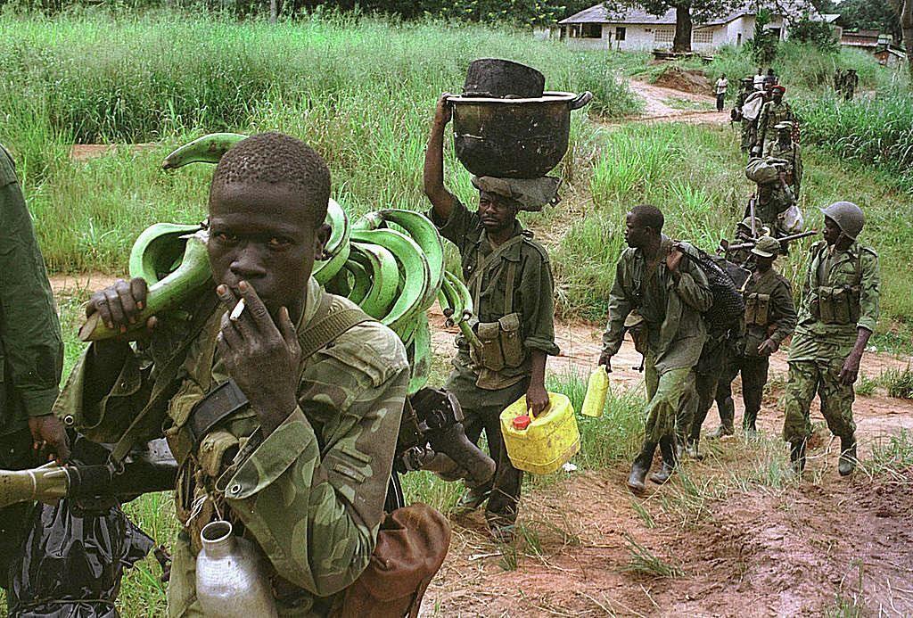 DR Congo at Brink of War - Retrospect .