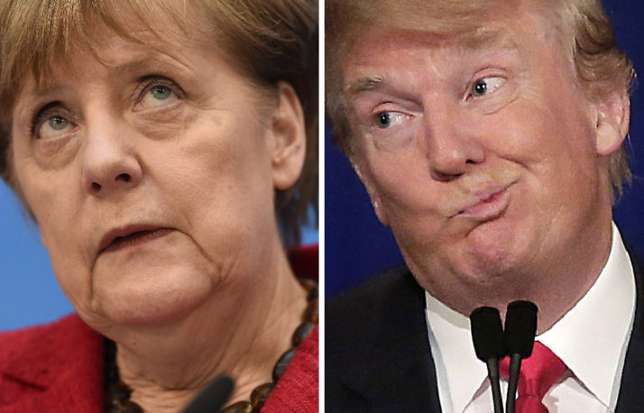 Merkel Meet Trump /March 14  - Retrospect ..