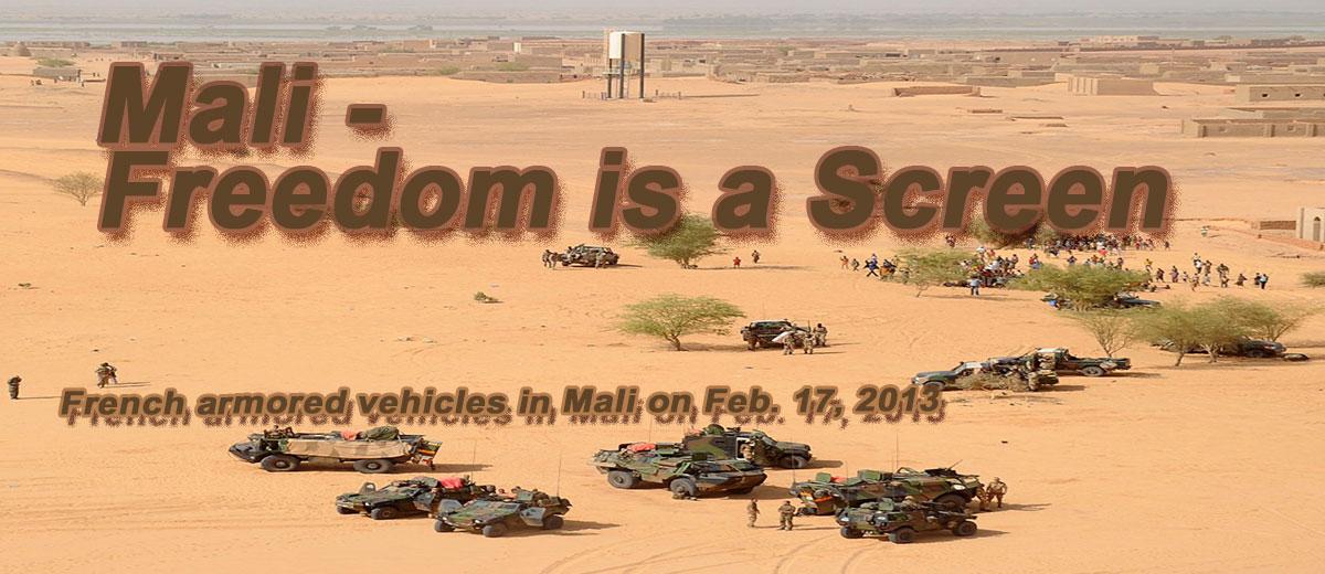 Mali - Freedom is a Screen - Africa