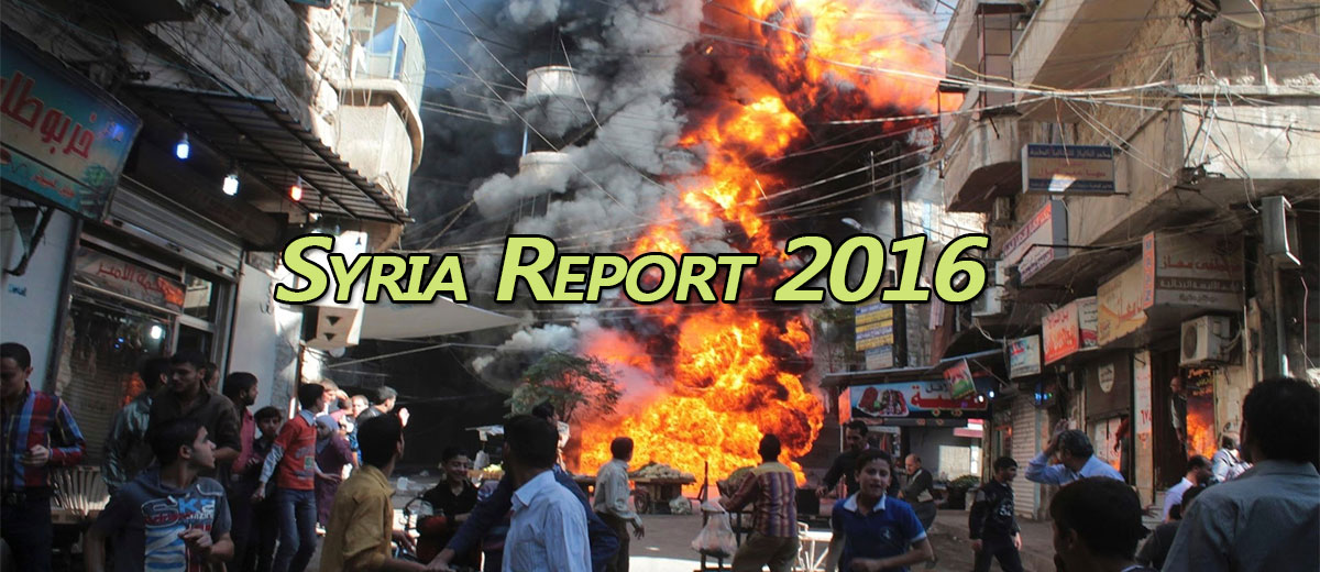 Syria Report 2016 - Middle East