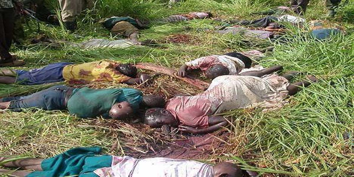 Kasai Killings /Congo's Impending War - Retrospect .