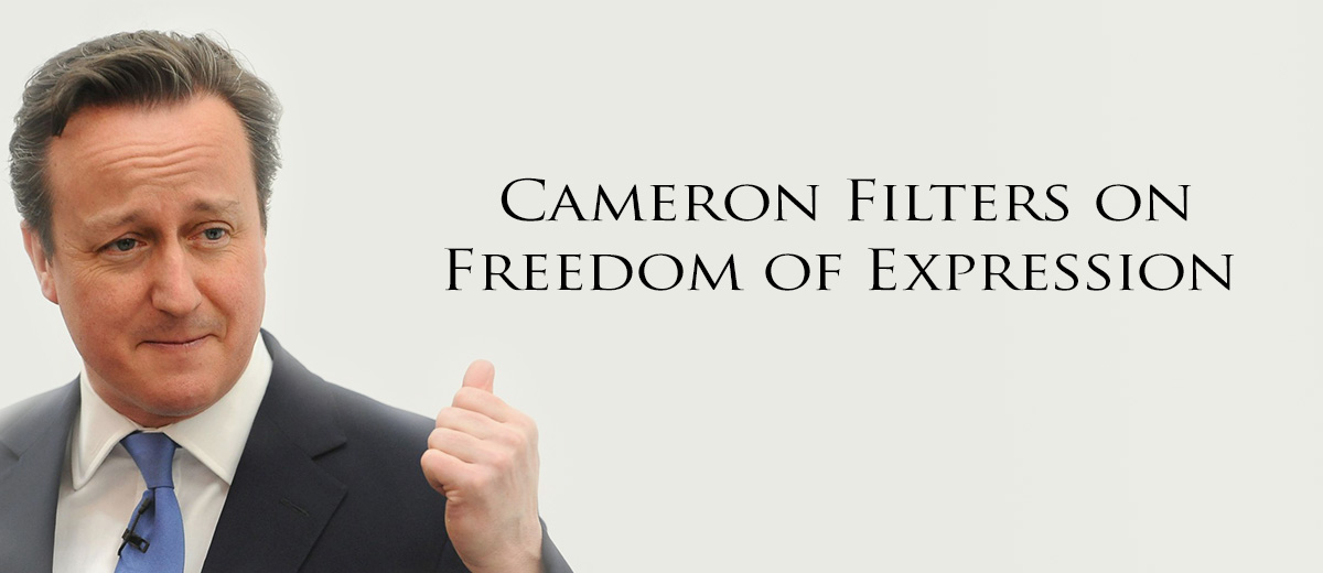 Cameron Filters on Freedom of Expression - Europe